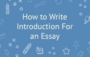 Exemplification essay how to